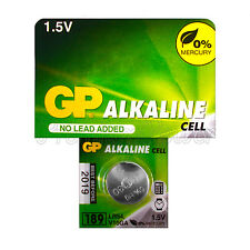 1 x GP Alkaline 189 battery 1.5V LR54 AG10 389A LR1130 A120 Button cell EXP:2019