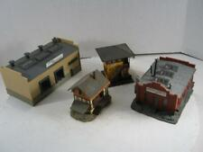 HO 4 Structures Truck Depot, Grusom Casket & Others