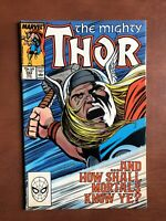 Thor #394 (1988) 7.5 VF Marvel Key Issue Cooper Age Comic Book High Grade