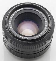 Auto Revuenon 50 mm 50mm 1.9 1:1.9 -- Pentax PK