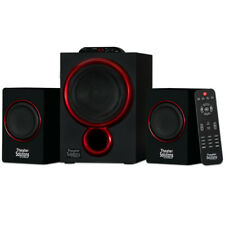 Theater Solutions TS212 Powered 2.1 Bluetooth Speaker System Home Multimedia