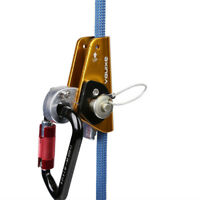 Safety 22KN Rope Grab Protecta Ascender Mountaineering Rock Climbing Equipment
