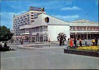 LEIPZIG Sachsen DDR Ansichtskarte Gebäude Partie am Sachsenplatz, Fussgänger, AK