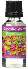 Cupcake World Elderflower Intense Strong Food Flavouring Concentrates 28.5 ml