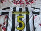 Cannavaro #5 Juventus Home Shirt 2009-10 youth large *read description*
