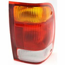 For Ranger 98-99, Passenger Side Tail Light, Amber, Clear and Red Lens