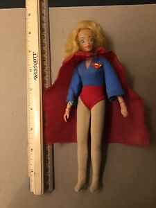 Vintage Mego Supergirl Figure Original DC Comics 1972 Heroes 8 inches Tall Nice