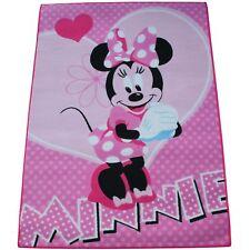 Minni Maus Teppich 133 x 95 cm Kinder Kinderteppich Disney Minnie Mouse M23
