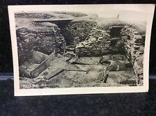 661. Skara Brae Huts Postcard