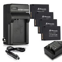 LP-E12 LPE12 Li-ion Battery & Charger For Canon EOS M M2 Rebel 100D SL1 Camera