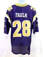 St. Louis Rams Marshall Faulk Football Jersey Navy 28