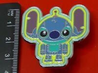Used Disney Enamel Pin Badge Stitch Character 2016 Disneyland Hong Kong