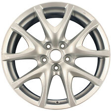Oem Reconditioned 18X8 Alloy Wheel Silver Metallic Full Face Painted 560-64901
