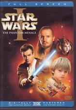 9 DVD SET - STAR WARS EPISODES 1 2 3 4 5 6 - Fullscreen Trilogies Saga Trilogy