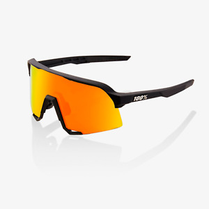 100% Percent Cycling S3 Sunglasses - Soft Tact Black Gold - 61001-100-43