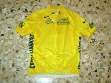 Football Jersey Yellow Shirt Trikot Maglia Former Tour de France Nike XL Cycling