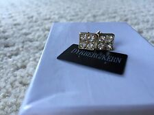 DYRBERG KERN POST EARRINGS Gold And Crystals  $79