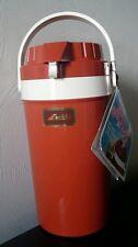 VINTAGE Aladdin Pump A Drink Jug Thermos Drink Dispenser Burnt Orange NEW w/Box
