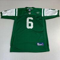 Mark Sanchez New York Jets Reebok On Field Sewn Jersey Size XL