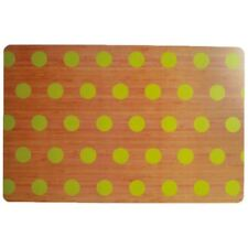 Set of 4 Large Polka Dots Placemats Serving Dinner Dining Table Mat 44cm X 28cm