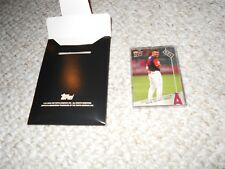 Topps Now Players Weekend 2017 Anaheim Angels 5-Card Set only 156 made! Trout