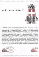 Document Officiel   1982 31   Chateau De Ripaille  Yv N° 2232
