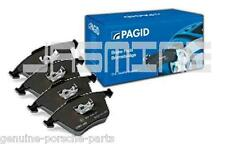 Set OEM Pagid Porsche 996 Turbo C4S Rear Brake Pads T1231 NEW
