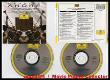 """MAURICE ANDRE """"Les Chefs-D'Oeuvre De La Trompette"""" (2 CD) 1992"""