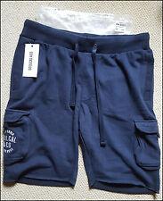 Soul Cal Vlies Cargo Shorts navy Large