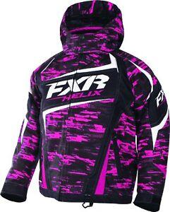 FXR™ Child Helix Fuchsia / Cascade Insulated Snowmobile Jacket 170409-9008-XX
