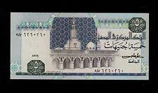 EGYPT 5 POUNDS  1984  PICK # 56b  UNC LESS.
