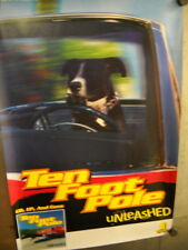 TEN FOOT POLE 2-sided PROMO POSTER from UNLEASHED super mint condition WOW!