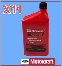 11 Quarts Automatic Trans. Fluid ATF Genuine FORD Motorcraft XT10QLVC MERCON LV