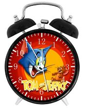 Tom and Jerry Alarm Desk Clock Nice For Decor or Gifts F155