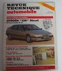 Revue technique automobile RTA 526 Citroën XM diesel D 12 & turbo D 12