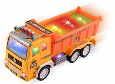Boys Toys Electric Dump Truck Kids Toddler fire rescue Car 3 4 5 6 7 8 Year Old