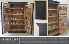 Large Kitchen Larder Cupboard 2 Door - Hand Painted in your choice of colour!