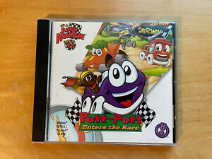 Putt-Putt Enters The Race 1998 PC Game Windows/Mac Kids 3-8 Junior Adventure