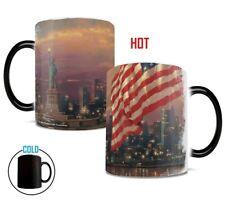 Freedom & Liberty Thomas Kinkade Morphing Mug Coffee Cup Brand New in Box!