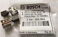 Genuine Bosch Carbon Brushes 18V 24V GSR & GSB Drills 2607034904 GSB18VE-2Li