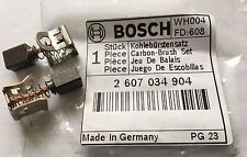 Genuine Bosch Carbon Brushes 18V 24V GSR & GSB Drills 2607034904 GSB18VE-2Li