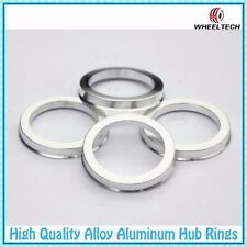 4 pcs Wheel Bore OD 73.1MM to Car Hub ID 57.1MM Hub Centric Rings Aluminum