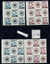 (E2853) B&M. Nr.62-63** Rotes Kreuz in 9er Blocks A+B