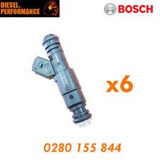 6x FUEL INJECTORs TO SUIT 91-02 FORD FALCON EB-EL XR8 5.0 Bosch 0280 155 844