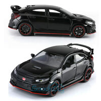 Honda 10th Civic FK8 Type R 1:32 Diecast Model Car Toy Collection Light&Sound