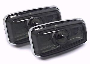 Side Indicators Peugeot Partner 05/1996-11/2002 Black Crystal