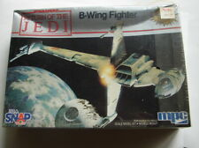 Star Wars MPC Snap kit ROTJ Vintage B wing model kit sealed cello 1983    D62