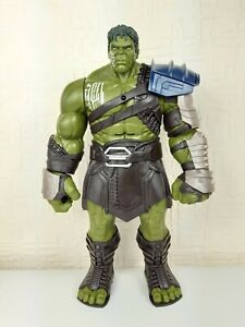 "Hasbro 13"" Marvel THOR RAGNAROK Interactive GLADIATOR INCREDIBLE HULK Figure"
