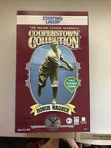 """1996 HONUS WAGNER Kenner Starting Lineup Cooperstown Collection 12"""" Figure"""
