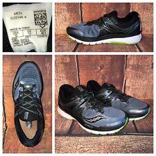 Saucony Triumph ISO 3 Shoes Comfort Terrain Trail Running Mens Sz 12 Blue Green